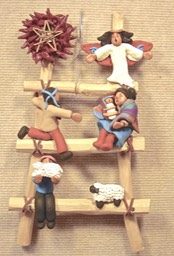 Ladder Nativity